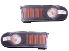 Toyota Fj Cruiser 07 - 13 Euro Black Signal Park Light Lamp Left Right Set Pair
