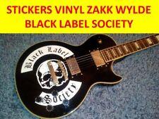 STICKER WHITE ZAKK WYLDE SKULL BLACK LABEL VISIT OUR STORE WITH MANY MORE MODELS