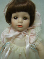 Seymour Mann Porcelain Baby Doll Collector's Guild EUC Orig Box