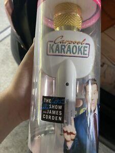 carpool karaoke mic