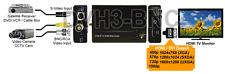 Premium Composite BNC RCA S-Video to HDMI DVI 1080p 1600x1200 VGA Scaler