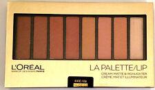 LOREAL LA PALETTE Makeup Designer Nude 03 - LIP COLORS 0.14 OZ Last One!