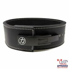 Strength Shop 13mm PU Leather Lever Belt - IPF Approved (Powerlifting Strongman)