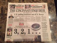 Cincy Reds (Newspaper) - Cinergy Stadium Falls Today 12/29/02 - Cincinnati Enq.