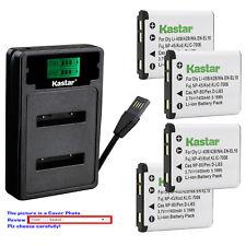 Kastar Battery LZD2 Charger for Kodak KLIC7006 LB-012 Kodak PixPro FZ53 Camera