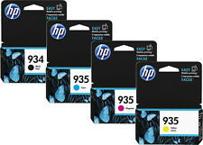 4x original tinta cartuchos HP 934 935 set OfficeJet pro 6230 e 6830 e 6820