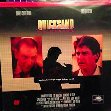 Quick Sand : No Escape  - LASERDISC  Buy 6 for free shipping