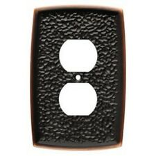 Bronze Duplex Wall Plate Hammered Brainerd 144035