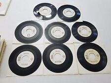 Randy Travis 45's Country Lot of 8: Shopping for Dresses  Deeper Than the Holler
