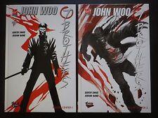 7 BROTHERS Fils de l'enfer : LOT 2 albums BD (Tome 1 + 2 JOHN WOO Virgin Comics)