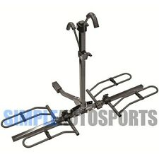 """PRO SERIES 2 BIKE FOLD DOWN  HITCH MOUNT 2 BICYCLE RACK CARRIER 1 1/4"""" AND 2"""""""