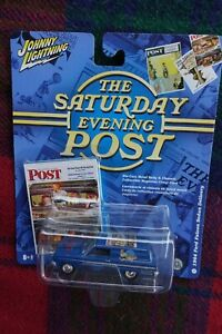 """1964 Ford Falcon Station Wagon JOHNNY LIGHTNING """"Saturday Evening Post"""" 1/64 MIB"""