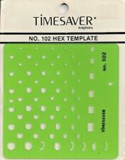 Vintage Timesaver No. 102 Hex Template - New in Package