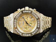 Men's Jojino by Joe Rodeo Simulated Diamond Watch Gold MJ-8029 - Limited Qty