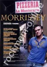 Morrissey The Smiths Kristeen Young tour Advert