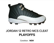 Jordan Retro 12 Playoff mcs Cleats XII DS New
