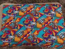 Cowboys Western Nat Am Bright Bold Polyester/Cotton Blend Fabric Material NEW