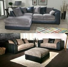 Grey Leather Sofas, Armchairs & Suites