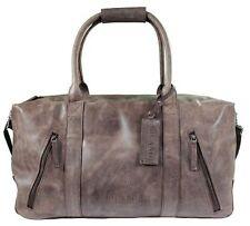 Weekender / Duffle Bag Boga Reise Tasche Echt Leder Vintage Braun