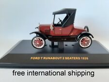 """1/43 o ixo CLC013 Ford T """"Runabout"""" 2-Seaters Closed 1925 red"""