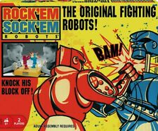 Rockem Sockem Robots Rock Marx Sock Toy Classic Boxing Match Fighter Strike New!