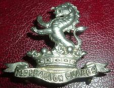 CAP BADGES-ORIGINAL VICTORIAN/QVC 7th DRAGOON GUARDS 1895-1906 NICE BADGE