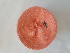 Bobbel zum Stricken und Häkeln 2-fädig – Meloneneis 130 Gramm  - 1000m