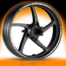 Adesivi ruote moto per YAMAHA XMAX - strisce RACING 2 cerchi stickers wheels