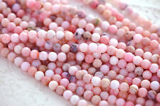 1 strand PINK PERUVIAN OPAL Gemstone Beads Round 7mm gop0003