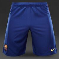 NIKE FCB H SHORT PANTALON OFICIAL FC BARCELONA AZUL 2015 (PRECIO EN TIENDA 39E)
