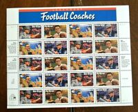 CatalinaStamps: US Stamps #3143-46 MNH Sheet, Football Coaches, Lot #B3