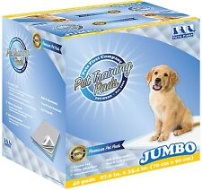 Pets First Pet Premium Jumbo Training Pads. 40 Count. - Best Ever, 2018 Version!