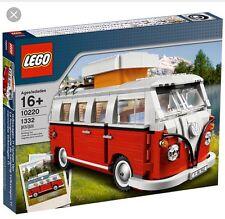 LEGO Creator Expert Camper Van Building TOY SET Volkswagen T1 New In Box 10220