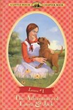 The Adventures of Laura & Jack (Little House Chapter Book)-ExLibrary