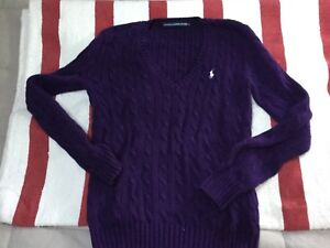 Pull polo ralph lauren taille M neuf