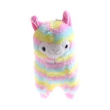 13cm Rainbow Kawaii Alpaca Llama Soft Plush Toy Doll GiftSC