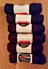 Bucilla Multi-craft brown acrylic fashion/craft yarn 6 2 oz skeins NEW!