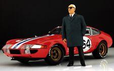 Enzo Ferrari (2) Figur für 1:18 Kyosho F40 250GTO Testarossa BBR VERY RARE!