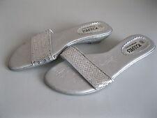 Wedge Textured Mule Heels for Women