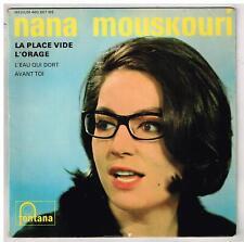 """Nana MOUSKOURI    La plage vide    7"""" 45 tours EP"""
