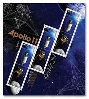 2019 Canada Apollo 11 Moon NASA Exploration Pane Of 6 Stamps Space Exploration