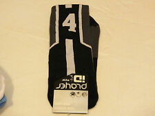 Player ID by TCK PCN MED #4 TWI 1 sock black charc vollyball basketball soccer