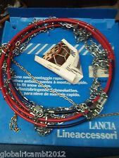 CATENE NEVE ORIGINALE LANCIA 5898136 135-13 135/80-13 NO OMOLOGATE