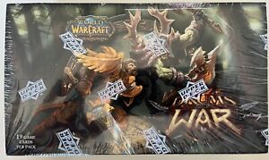 World of Warcraft TCG CCG Drums of War Booster Box w/ 24 Packs NEW SEALED