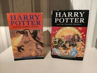 Harry Potter - And The Goblet Of Fire & The Deathly Hallows 1st Edition Books