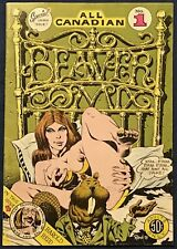 All Canadian Beaver Comix #1  Underground Comix  1st Printing  1973  Harold Head