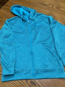 ADIDAS JACKET WOMEN HOODY 100% POLYESTER Leggings Not Included Listed Separate