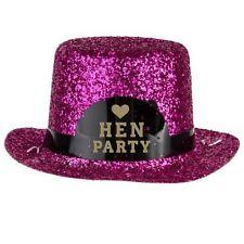 Hen Party - Mini Glitter Hat Girls Night Out Bachelorette Fancy Dress