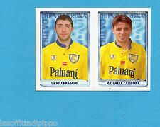 MERLIN CALCIO 99 -Figurina n.459- PASSONI+CERBONE - CHIEVO VERONA -NEW