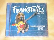 CD PROMO / FRANCOFOLIES DE SPA 2005 / NEUF CELLO / RARE